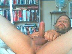Pelle Stroking vidz his cock  super on cam