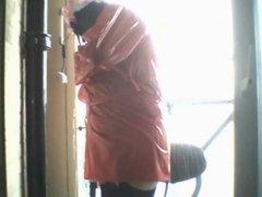 Crossdressed Under vidz Outdoor Shower  super 02