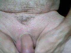 Cumshot with vidz urethral insertion
