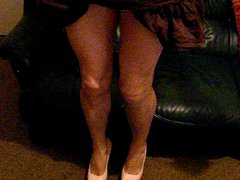 Crossdresser fucking vidz her heels