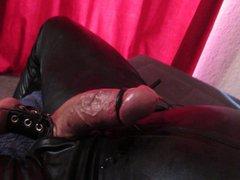 Huge hands vidz free cum  super shot in catsuit (electro stimulation)