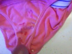 cumshot in vidz mother in  super laws panties