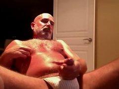 Wanking my vidz fat cock...  super again.