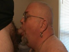 sucking and vidz swallowing a  super big dicked bear