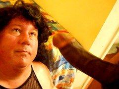 Big Black vidz Cock facial  super on CD Lori