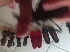 Wife heels vidz wank