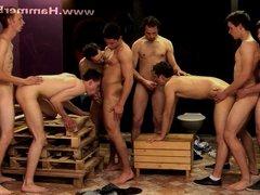 Gangbang fraternity vidz 1 from  super Hammerboys TV