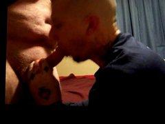 Skinhead Tat vidz Artist Breeds  super tight Bear Ass