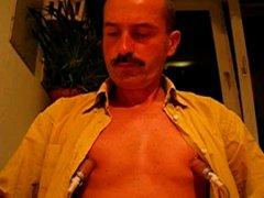 Mustache and vidz nipple