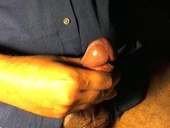 Big Headed vidz Cock Stroke  super with Cum Explosion