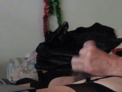 Sissy Ray vidz shooting a  super load of sperm again