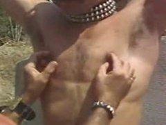 Vintage Kinky vidz Gays in  super Leather