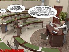 FIRST TIME vidz GAY FUCK  super ON EXAM 3D Gay Cartoon Animated Comics