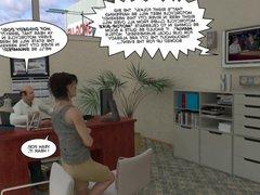 Pleasing of vidz Gay Biker  super 3D Male Cartoon Anime Comics Story