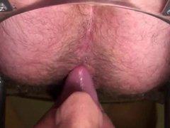 Rimming a vidz Hairy Hole