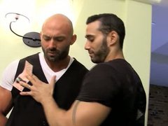 Room Service vidz - Muscle  super worship with Max and Alexy