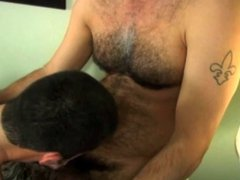 very hot vidz hairy daddy  super shoot cum in mouth