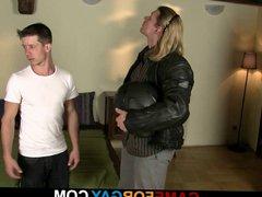 Hunk gets vidz lured into  super gay sex