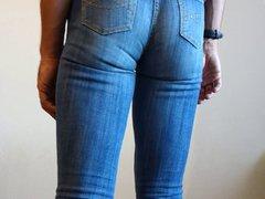 crossdresser in vidz tight womens  super jeans
