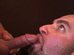 Cock slut vidz swallows 50  super loads of cum