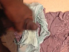 Shot a vidz nice load  super on her panties