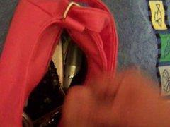 cum inside vidz girlfriends handbag