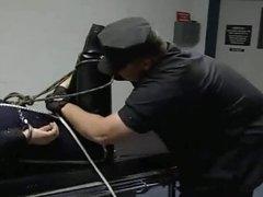 Cops and vidz Prisoner Bondage