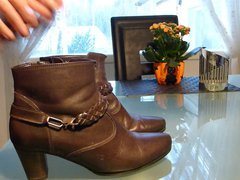 Cum in vidz wifes brown  super ankle boot