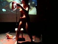 Mi vagina vidz - Fisting&poetry  super performance