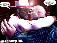 Mad Public vidz Orgy in  super Gay Club 3D Gay Comics or Anime Cartoons