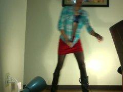 Boy in vidz Girl Clothes