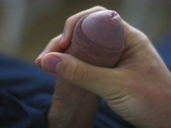 My young vidz cock oozing  super cum
