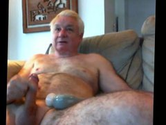 LikeAOlder Grandpa vidz 66 y  super d jerking and playing with his toy