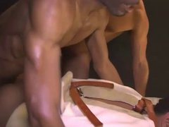 slave gets vidz fucked hard  super by two bbc