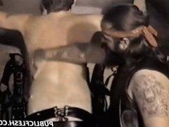 Vintage Gay vidz Leather Lashing