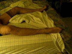 Vintage ff vidz stockings, bed  super hump, cum, typical evening.