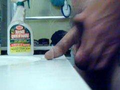 standing in vidz the bathroom