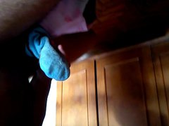 Wanking with vidz my mother  super dirty socks part 2