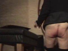 Older Daddy vidz spanked by  super Onkel