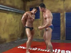 Muscle men vidz have fun  super in the ring 1