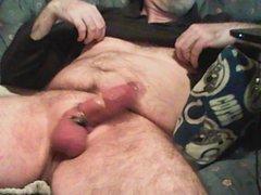 Hands free vidz nipple cum  super after edging session