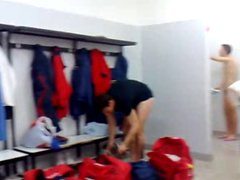 Italians soccer vidz players caught  super in the showers