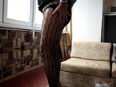 crossdresser in vidz pantuhose
