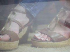 cum tribute vidz for mandy's  super feet 3