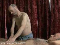 Daddy Gets vidz A Massage  super And A Fuck
