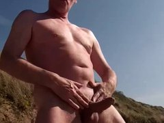 scottish cock vidz performance on  super the beach