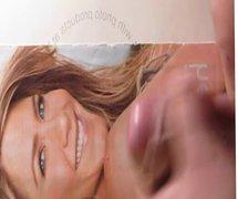 Jennifer Aniston vidz Cum Tribute  super Bukkake No. 1