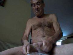 naked spunk vidz wank off