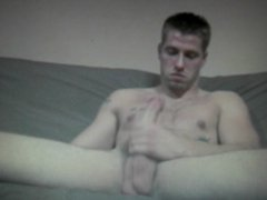 straight lad vidz shows off  super his 10inch cock