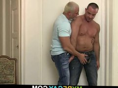 Two hunks vidz have fun  super while wife not home